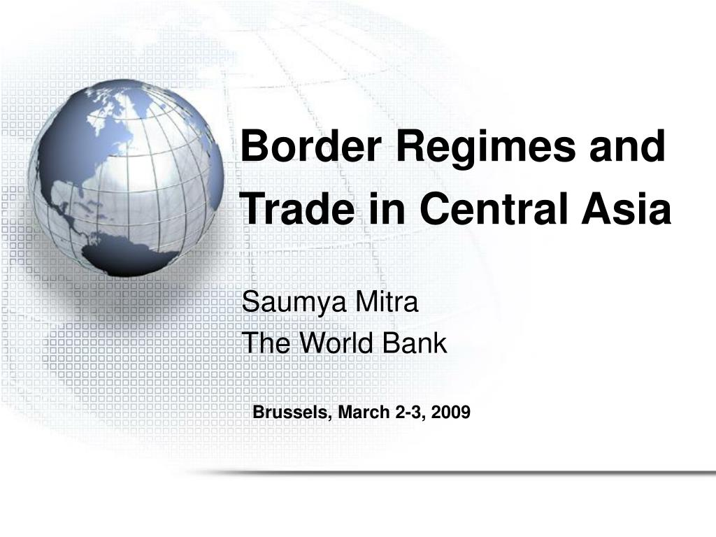border regimes and trade in central asia