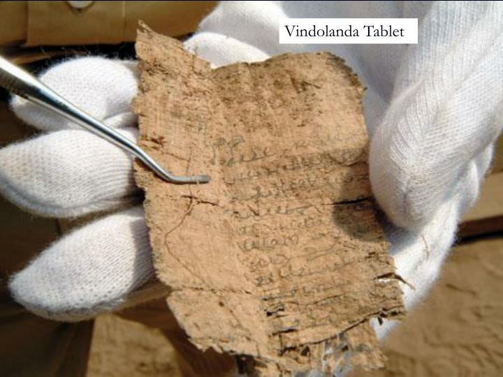 Vindolanda Tablet