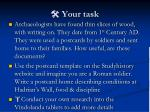 your task1