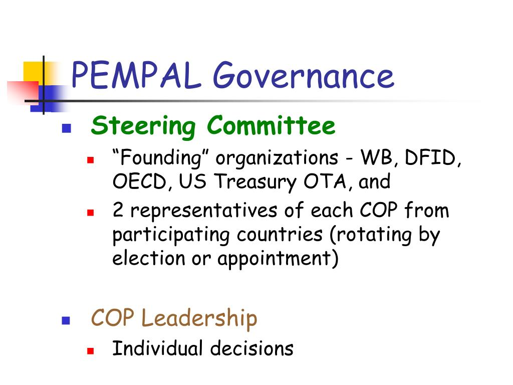 PEMPAL Governance