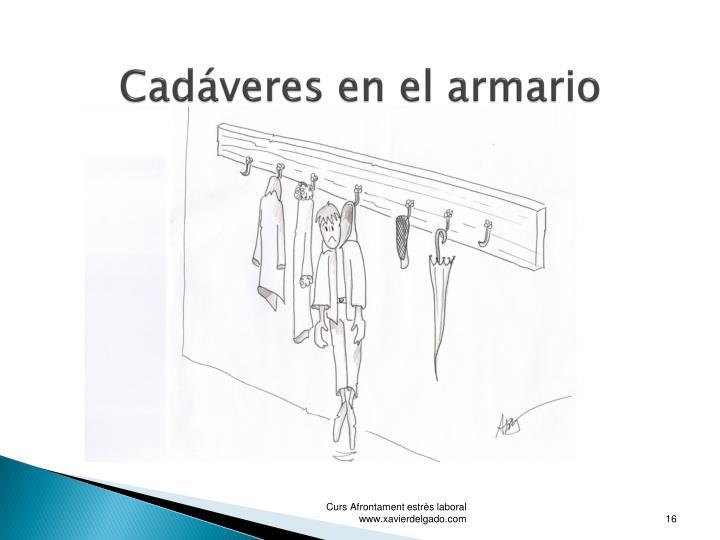 Cadáveres en el armario