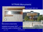 ivtran monuments