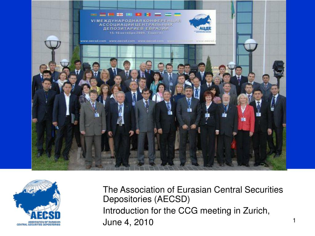 The Association of Eurasian Central Securities Depositories (AECSD)