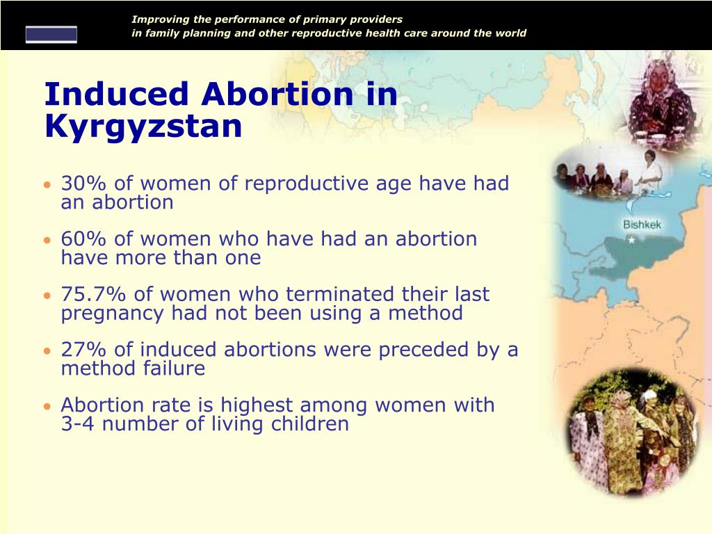 Induced Abortion in Kyrgyzstan
