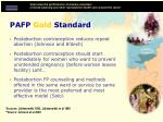 pafp gold standard