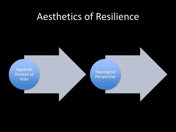 Aesthetics of Resilience