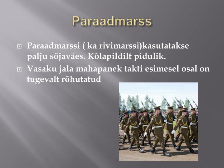Paraadmarss