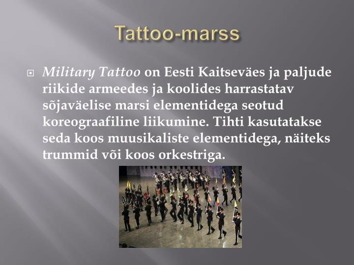 Tattoo-marss