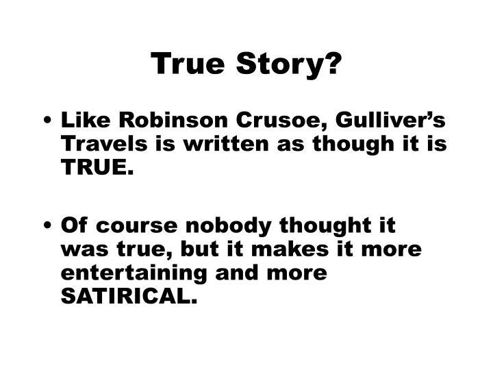 True Story?