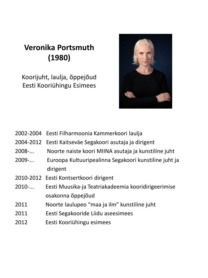 Veronika Portsmuth