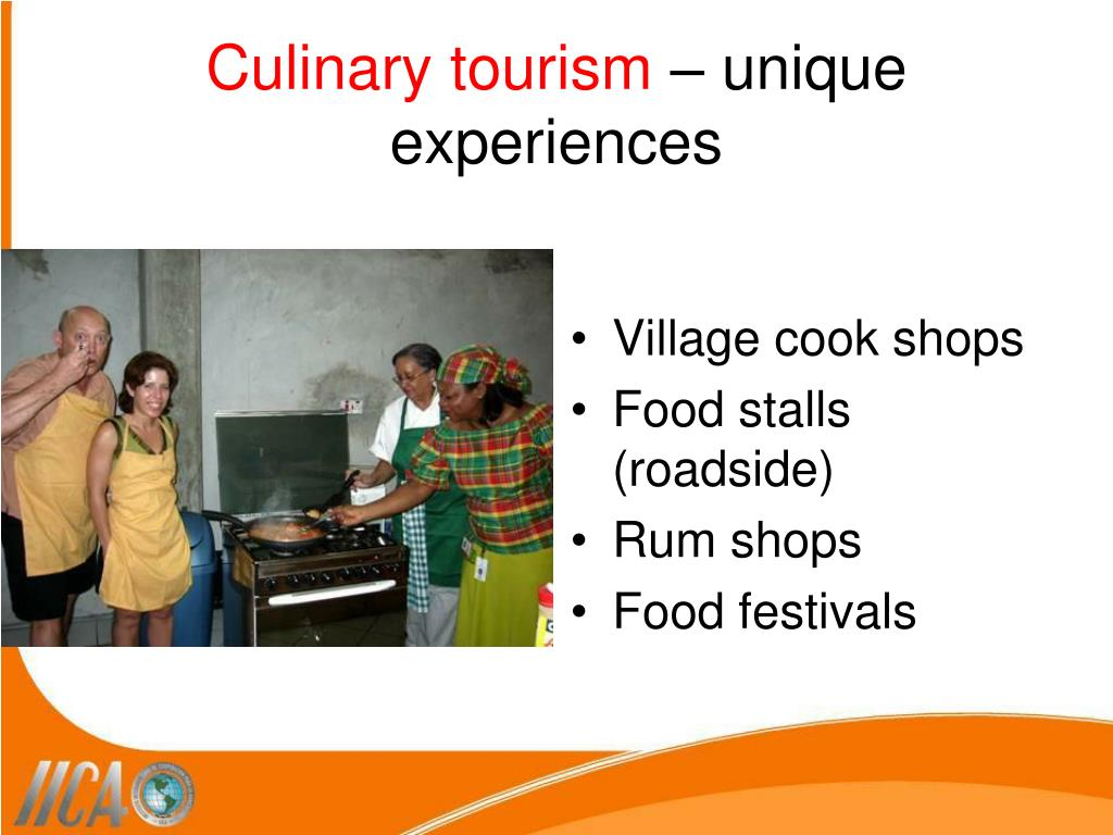 Culinary tourism