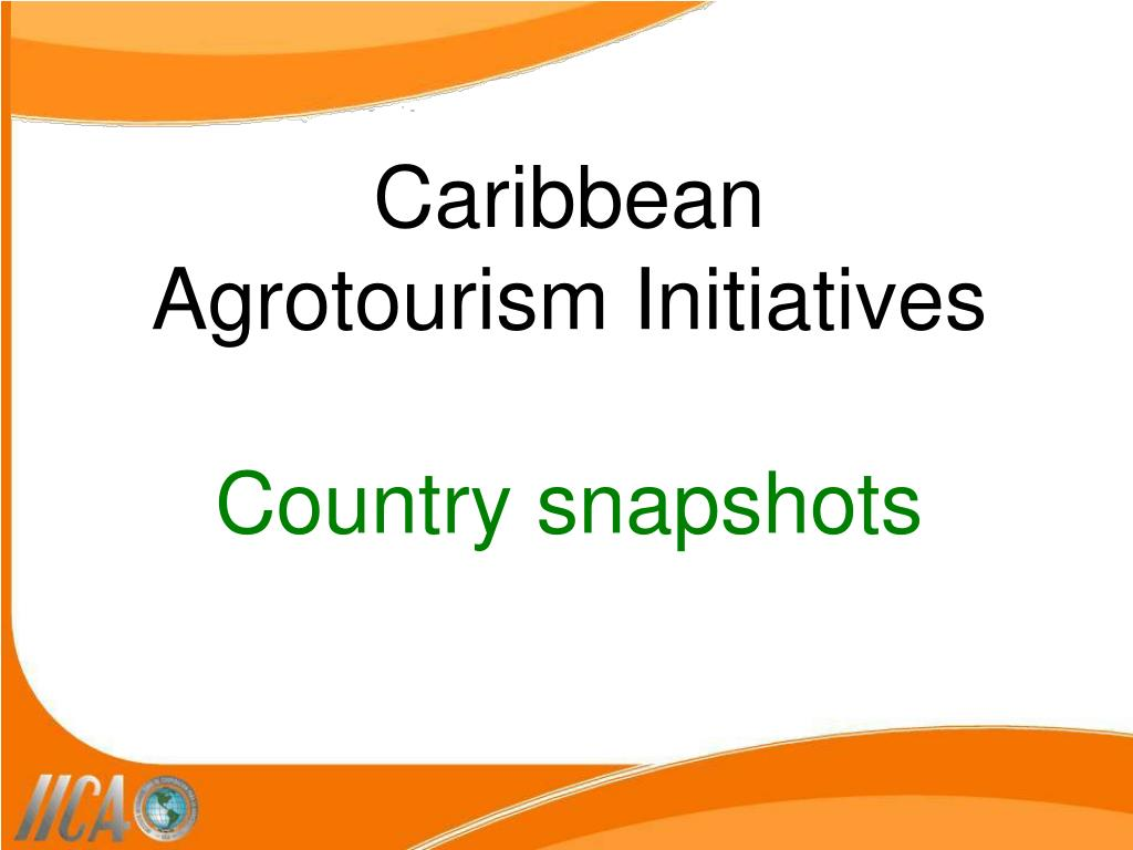 Caribbean Agrotourism Initiatives