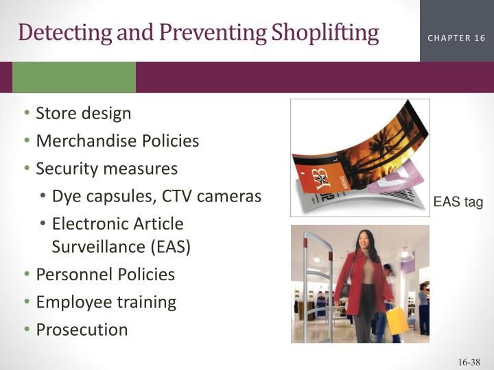 Detecting and Preventing Shoplifting