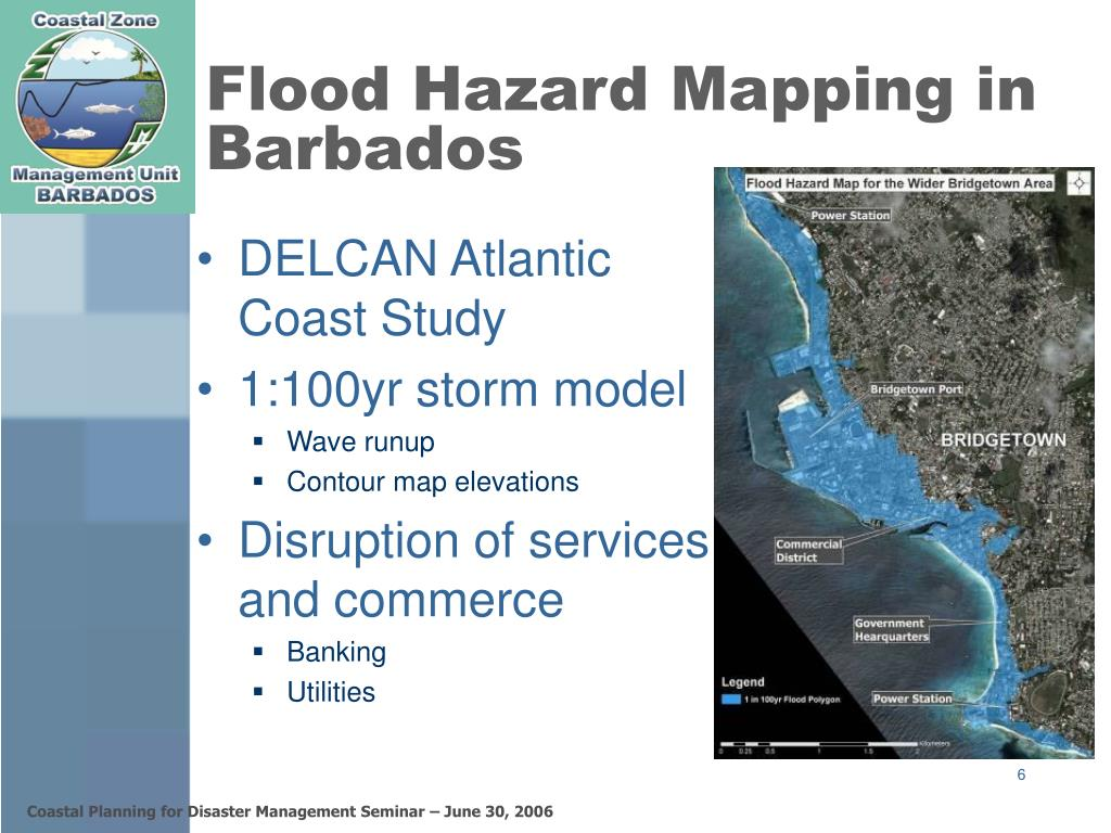 Flood Hazard Mapping in Barbados