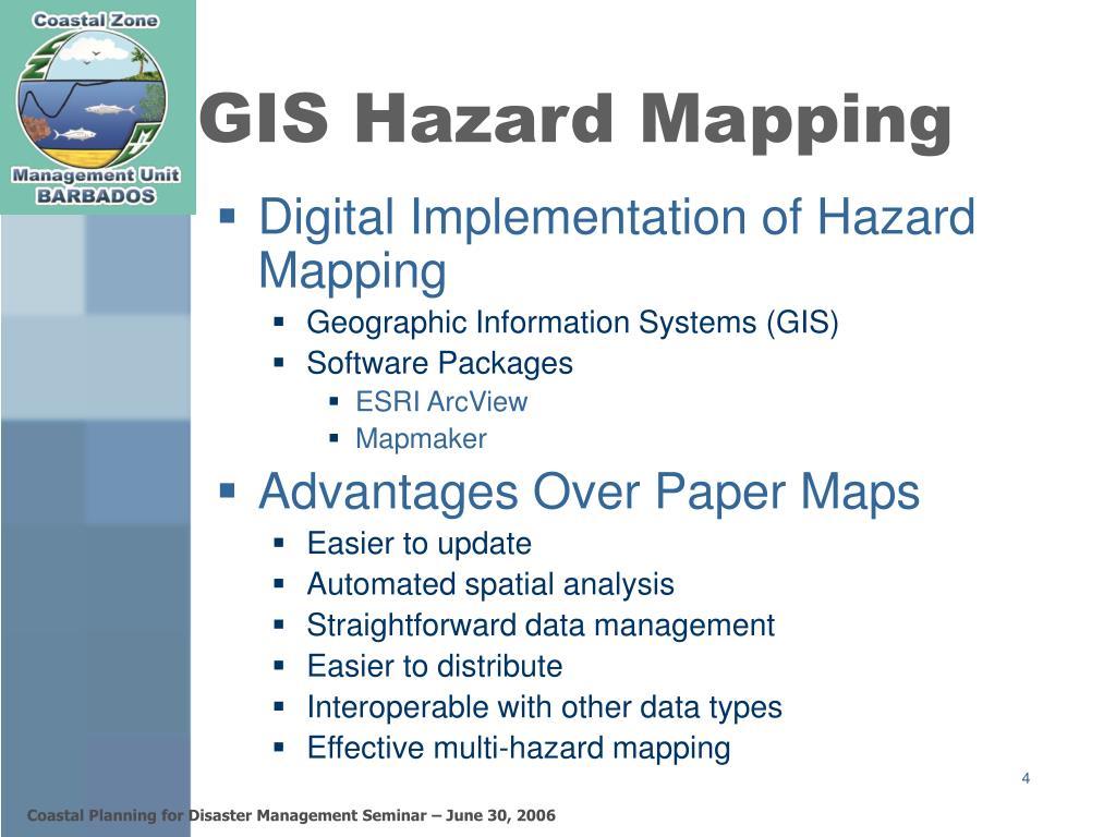 GIS Hazard Mapping