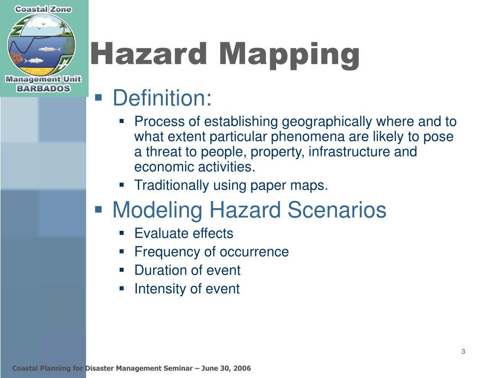 Hazard Mapping