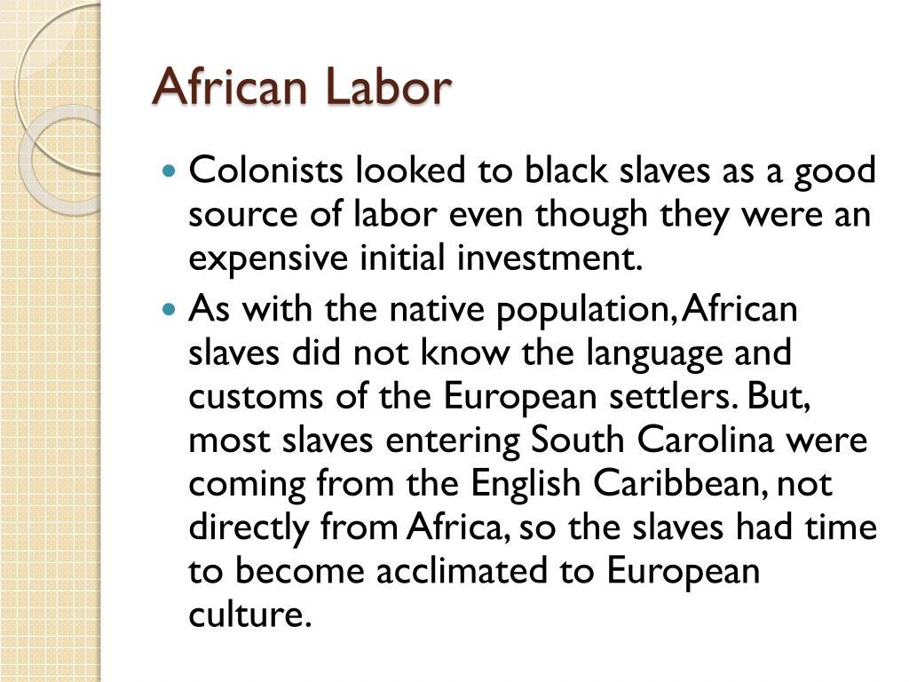 African Labor