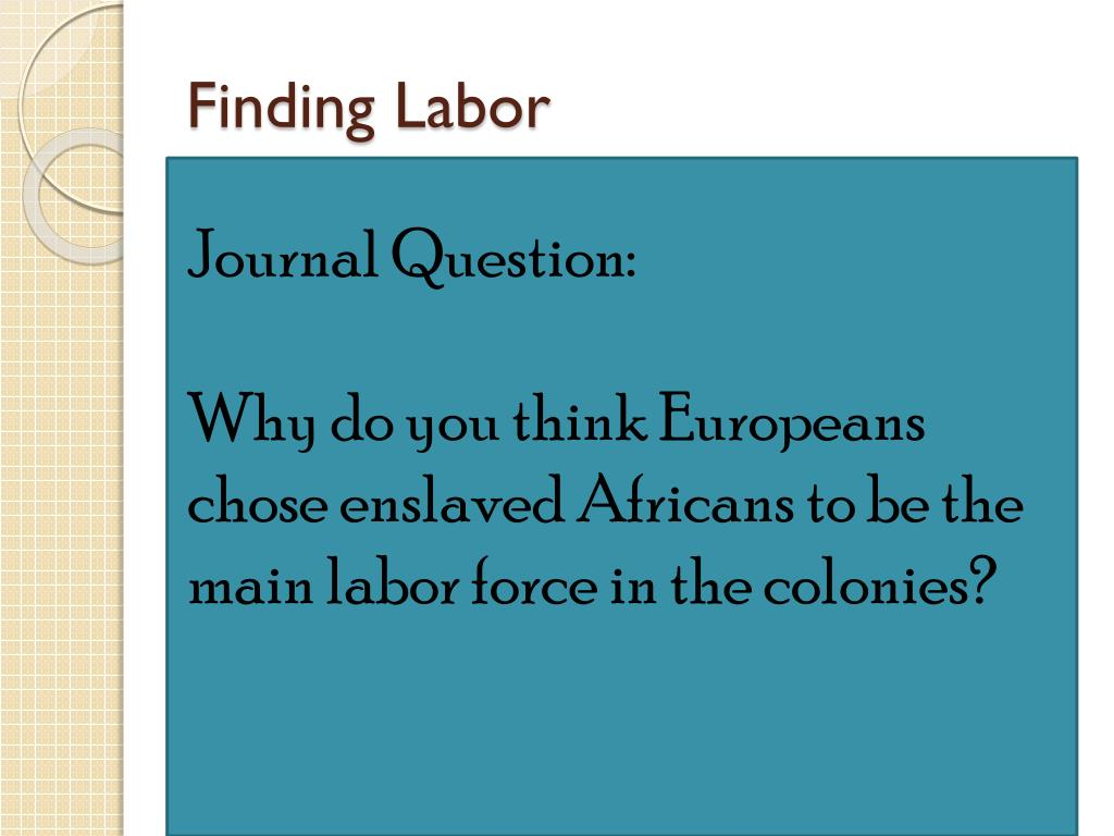 Finding Labor