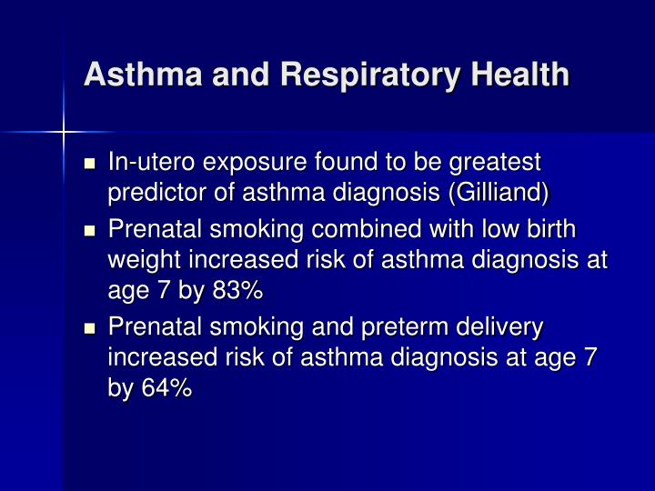 Asthma and Respiratory Health