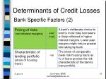 determinants of credit losses3