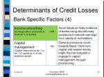 determinants of credit losses5