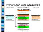 primer loan loss accounting