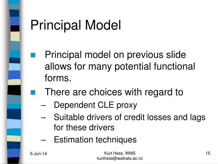 Principal Model