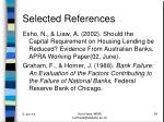 selected references1