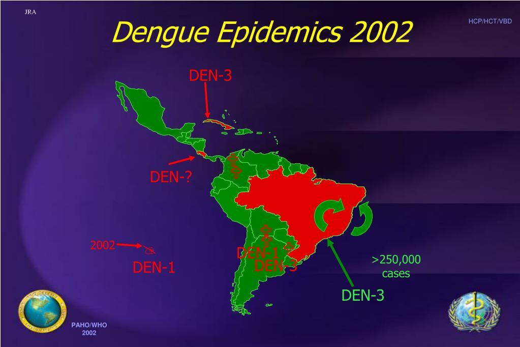 Dengue Epidemics 2002