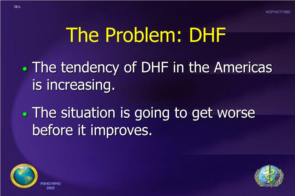 The Problem: DHF