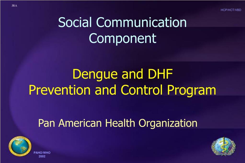 Social Communication Component