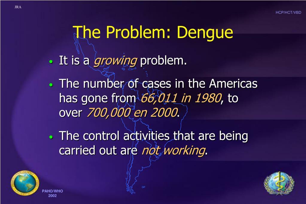 The Problem: Dengue