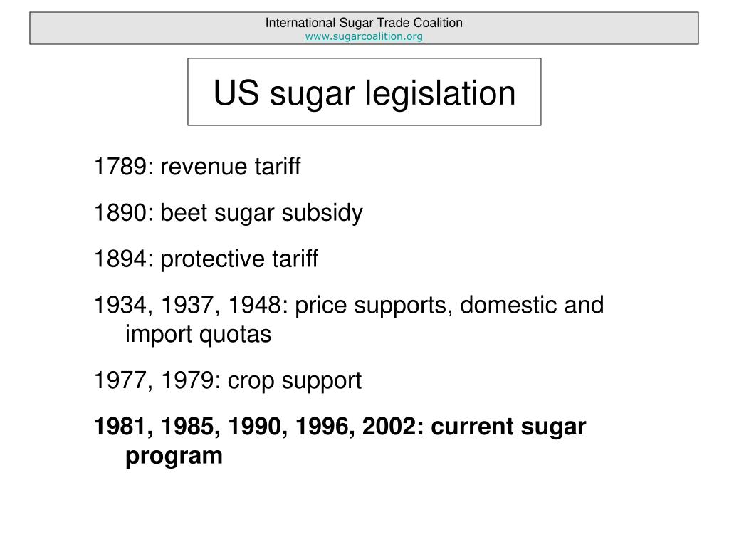 1789: revenue tariff