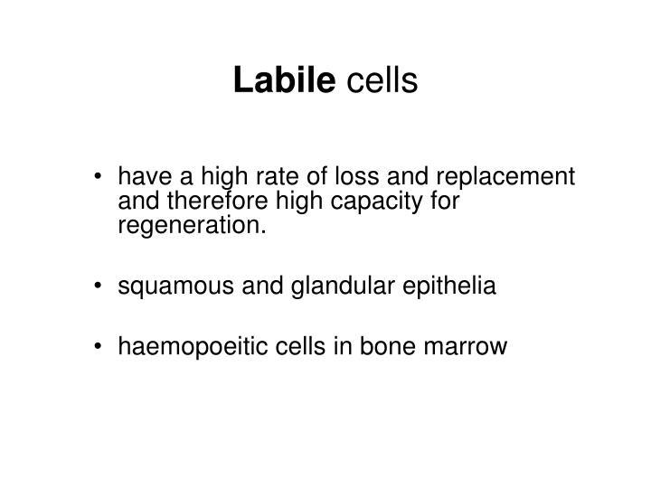 Labile