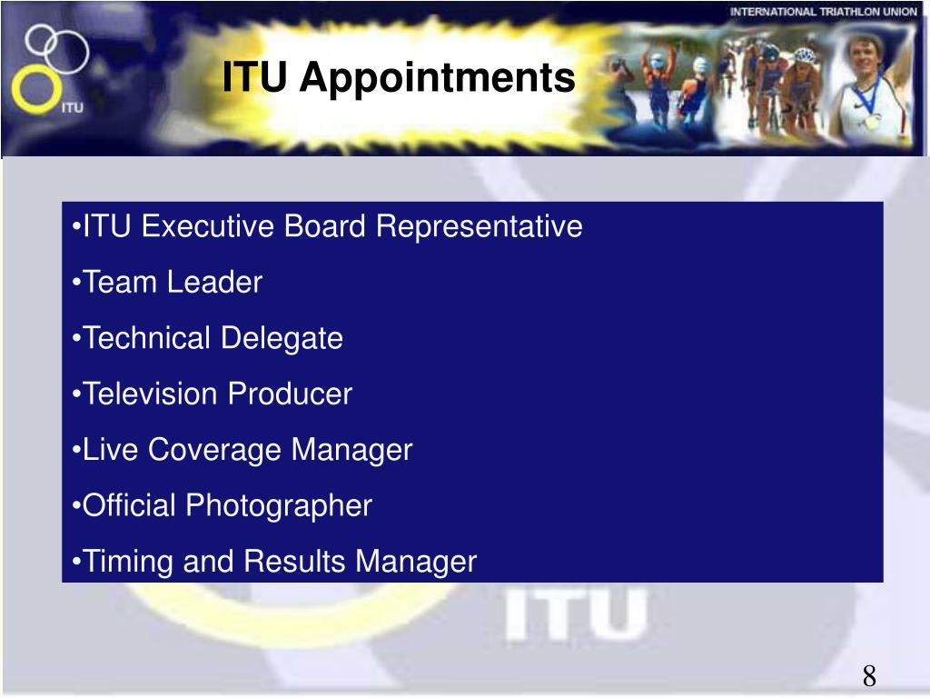 ITU Appointments