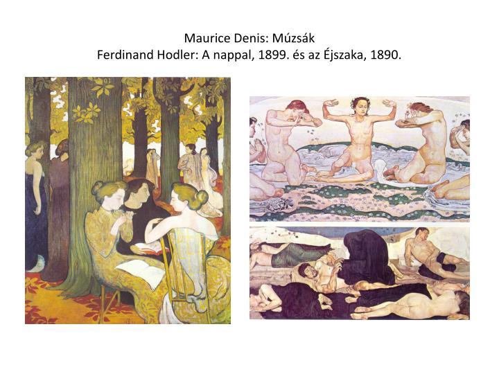Maurice Denis: Múzsák