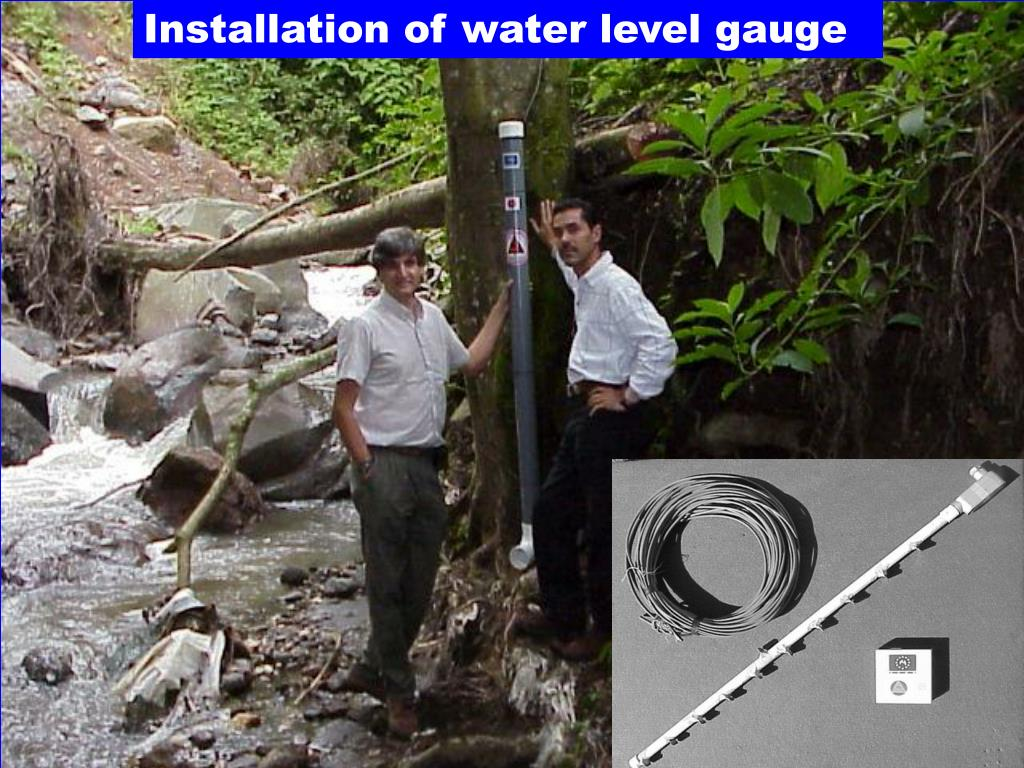 Installation of water level gauge
