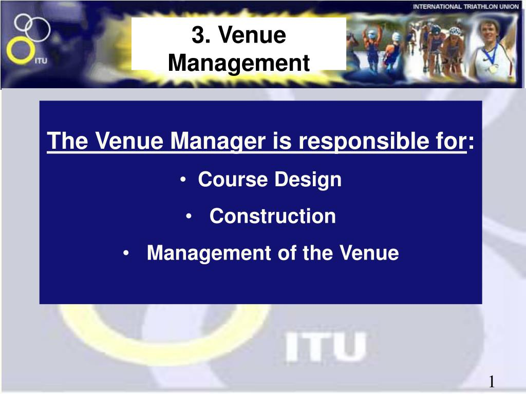 3. Venue Management