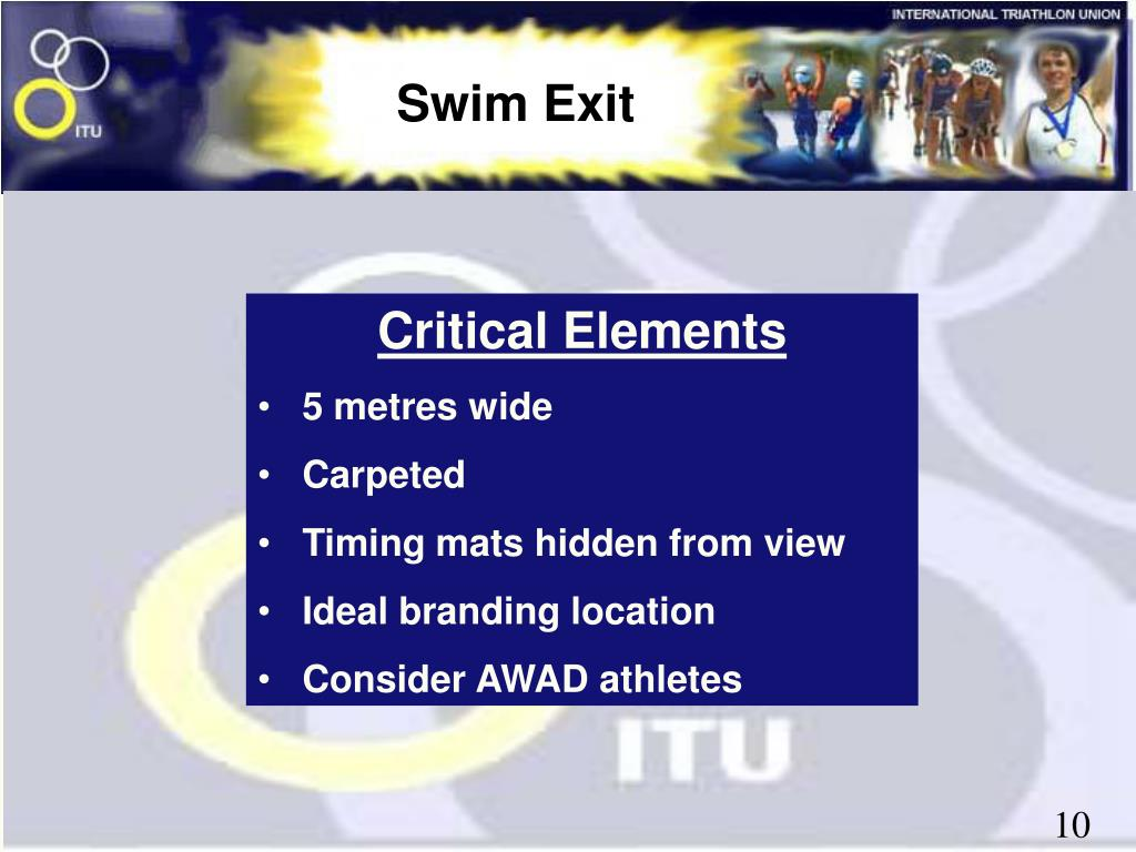 Swim Exit