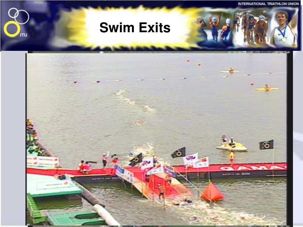 Swim Exits