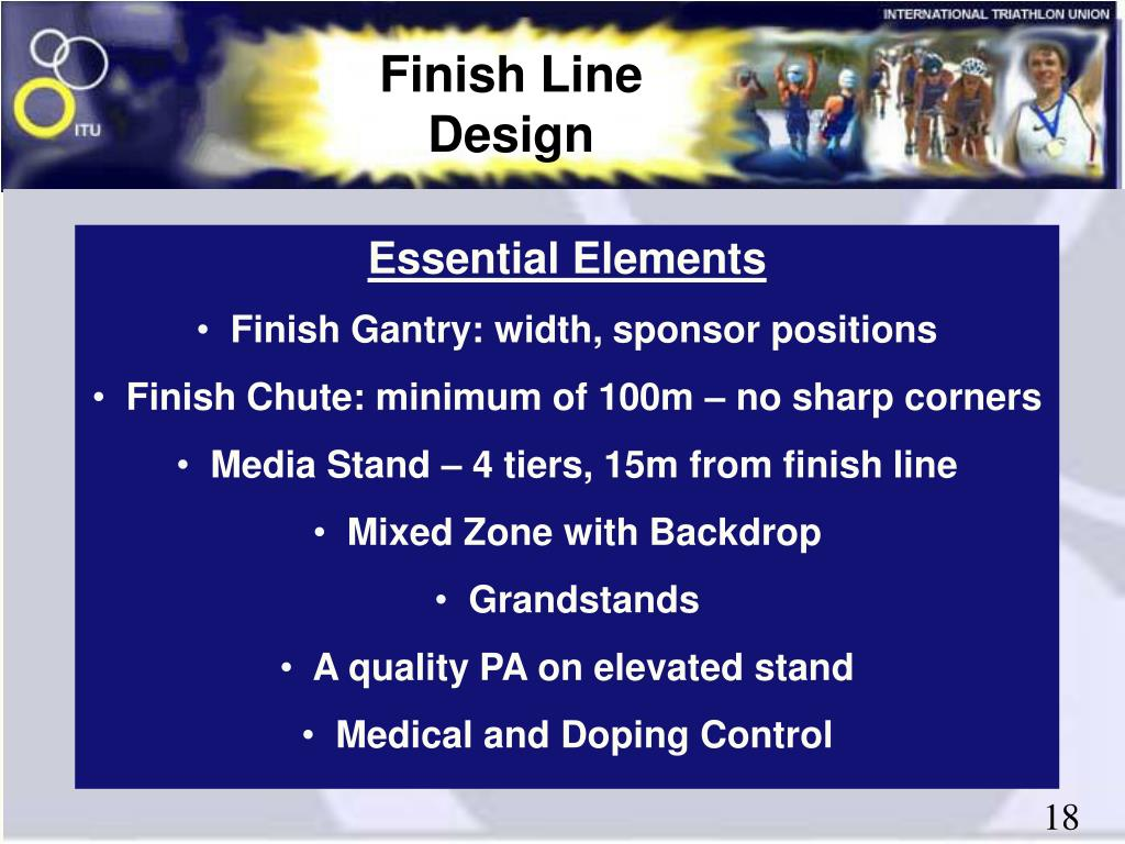 Finish Line Design
