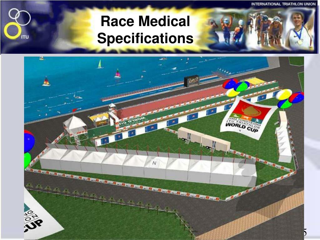 Race Medical Specifications