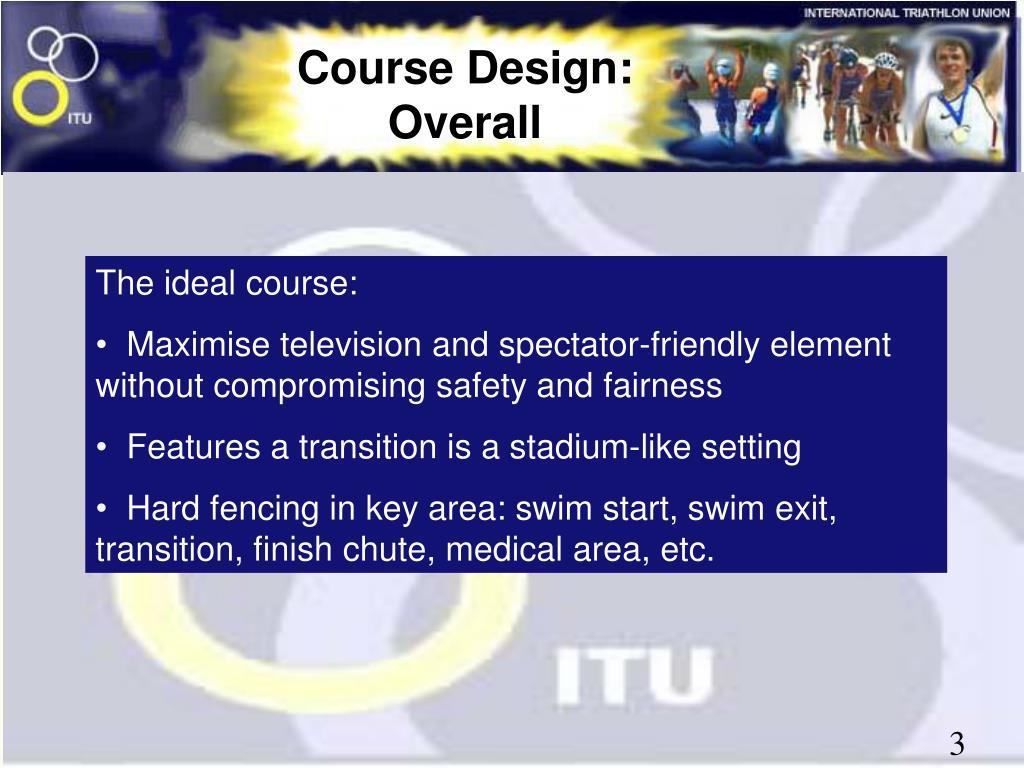 Course Design: Overall