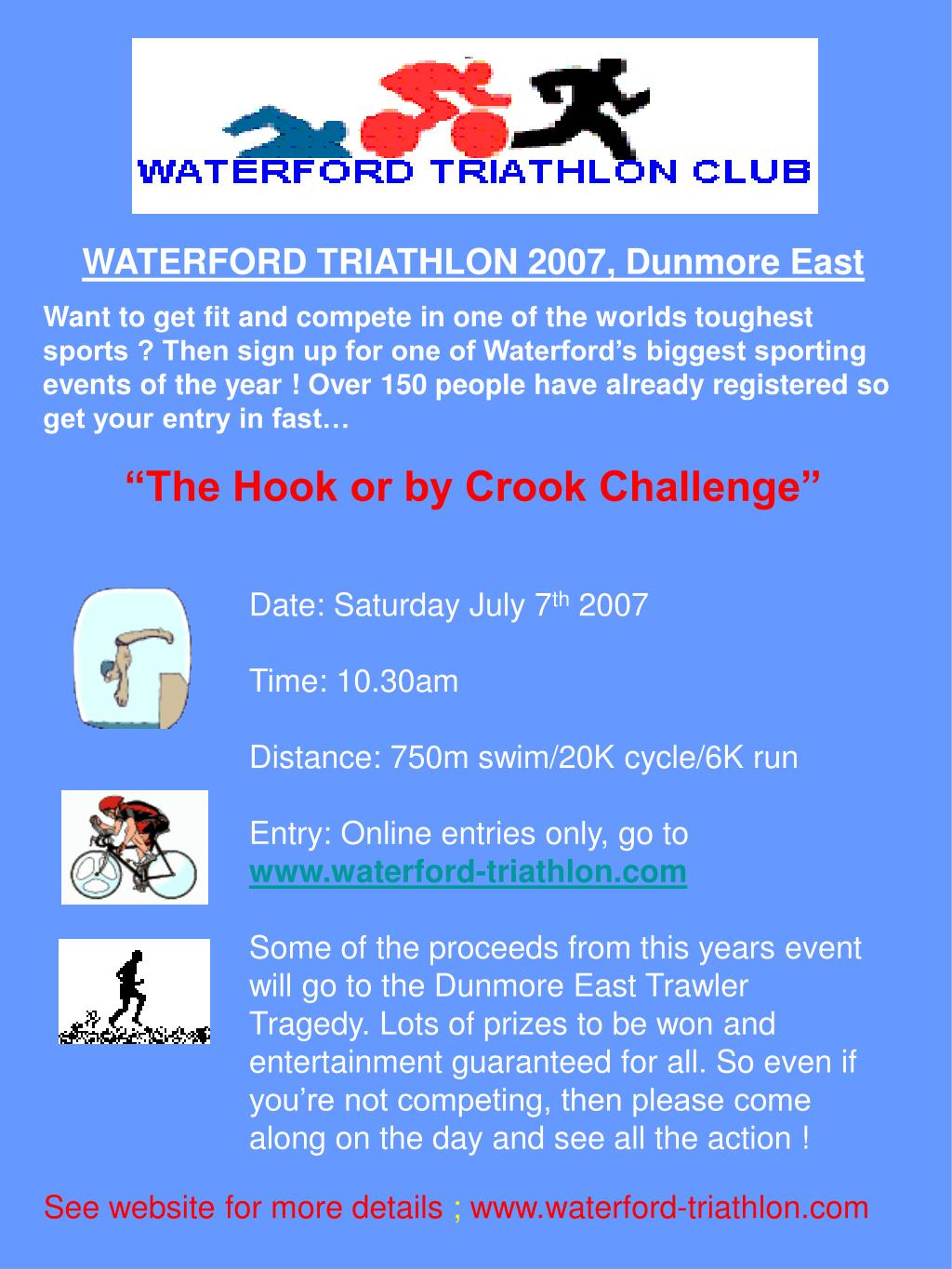 WATERFORD TRIATHLON 2007, Dunmore East