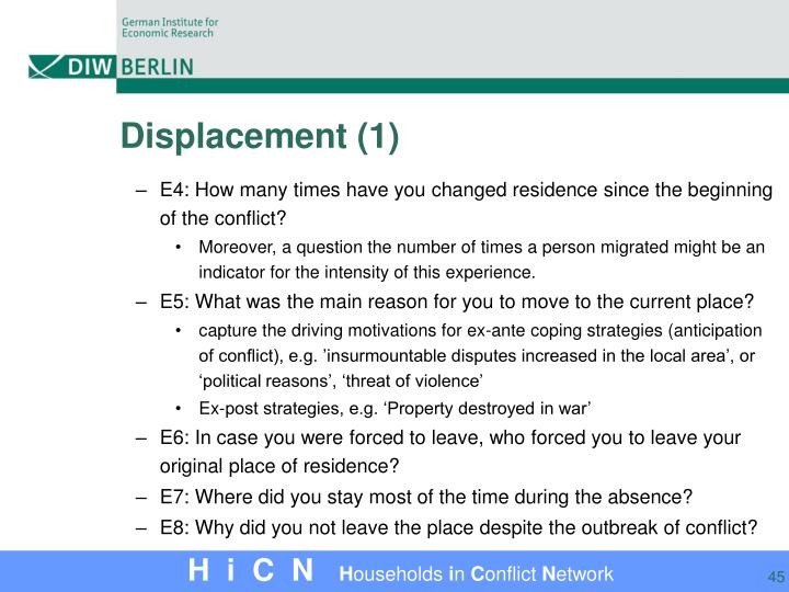 Displacement (1)