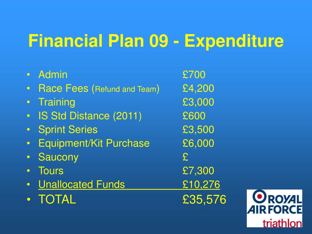 Financial Plan 09 - Expenditure