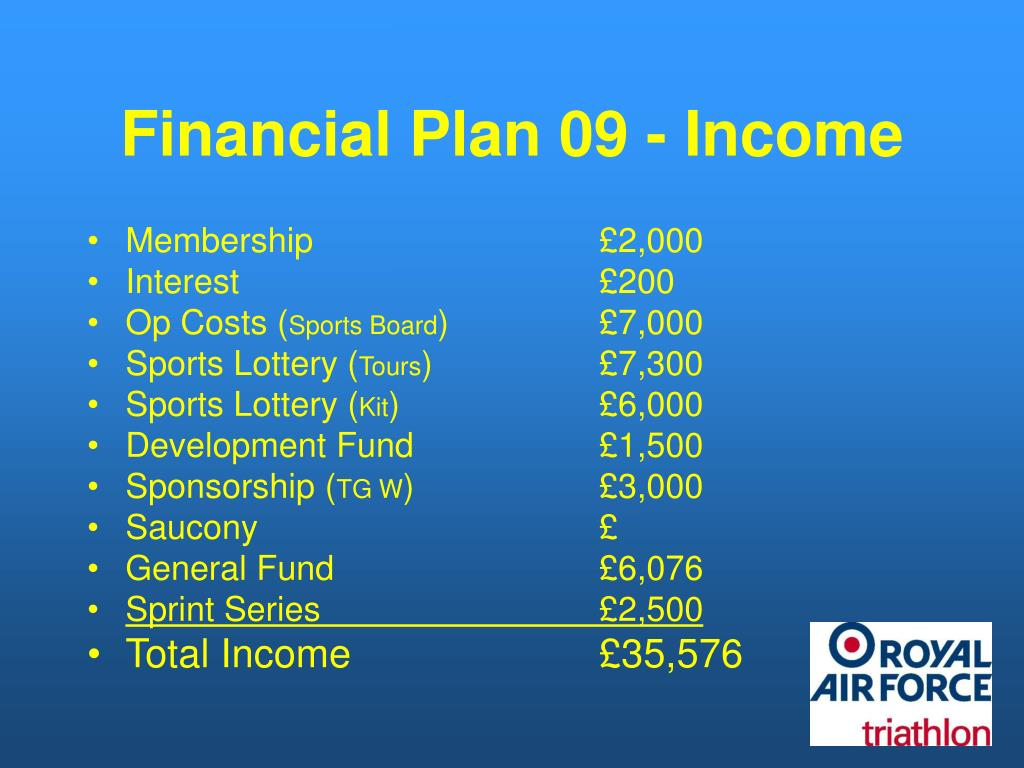 Financial Plan 09 - Income