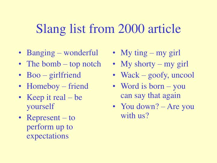 Banging – wonderful