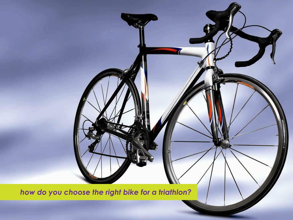 how do you choose the right bike for a triathlon?