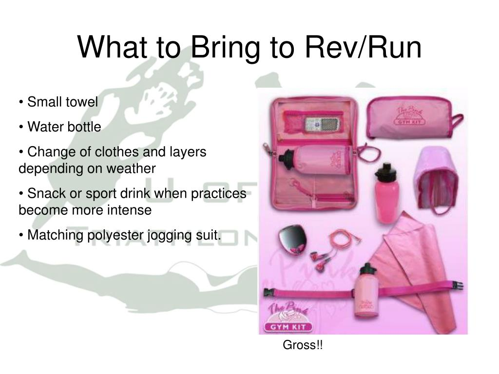 What to Bring to Rev/Run